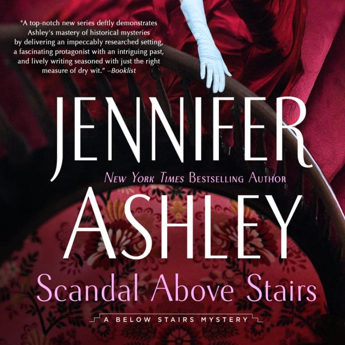 Scandal Above Stairs audiobook by Kat Holloway Mysteries